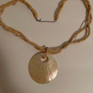 Beautiful sea shell necklace